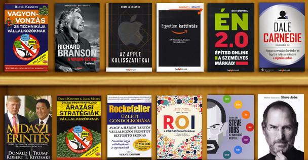 TOP 12 legjobb könyv online vállalkozóknak 2012-ből