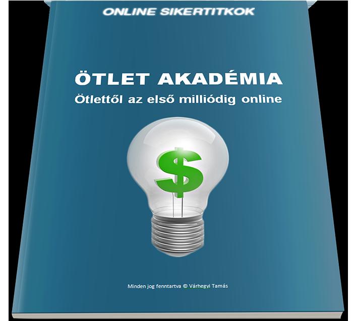 Ötlet Akadémia jegyzetfüzet