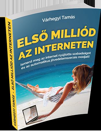 Első Milliód az Interneten könyv - Várhegyi Tamás