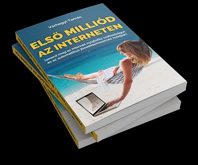 Várhegyi Tamás - Első Milliód az Interneten könyv