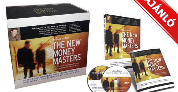 AJÁNLÓ: Anthony Robbins - New Money Masters DVD sorozat