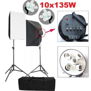 Stúdió világítás videó marketing felszereléshez